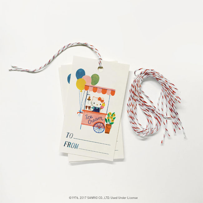 Hello Kitty + Quill & Fox Gift Tags