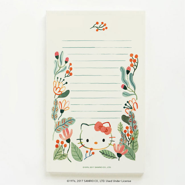 Hello Kitty + Quill & Fox Notepad