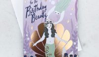 Mermaid Birthday Card by Idlewild Co.