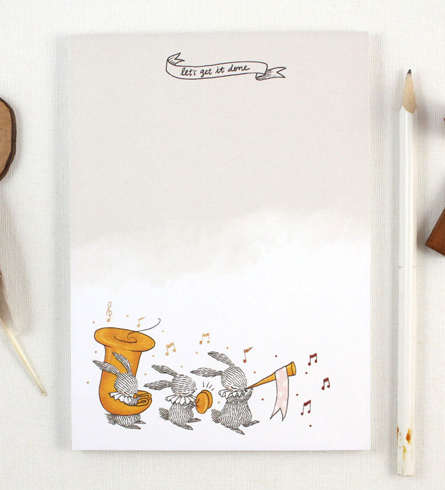 Whimsy Whimsical Adorable Notepad