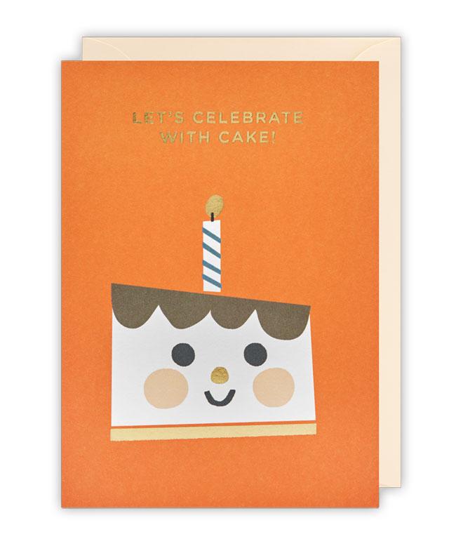 Cake Birthday Card by Ekaterina Trukhan for Lagom
