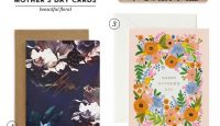 Beautiful Floral Mother's Day Cards #mothersday #stationery