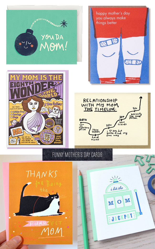 More Funny Mother's Day Cards