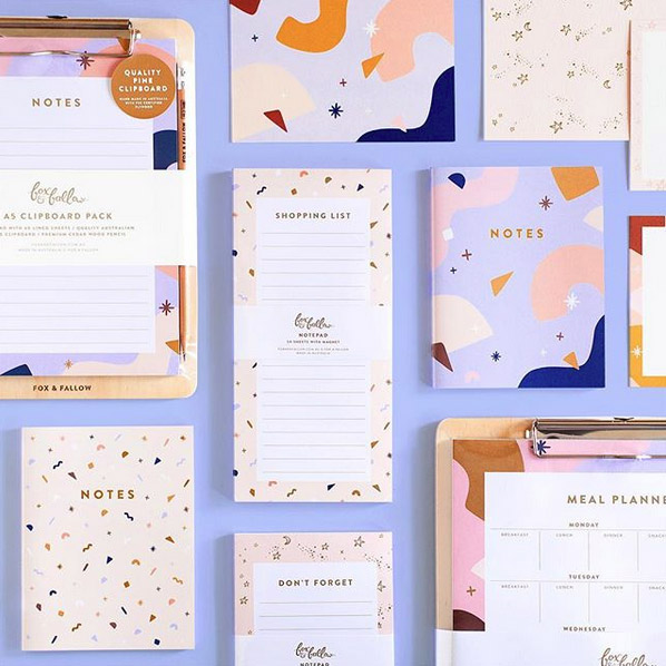 Sweet Dreams Stationery Collection from Fox & Fallow
