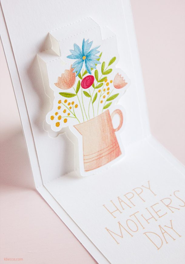 Print & Cut Pop Up Cards with Silhouette Studio #printandcut #silhouettecameo