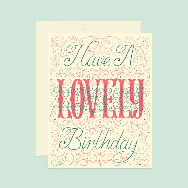 Hand Lettered Greeting Cards from Katie Made That