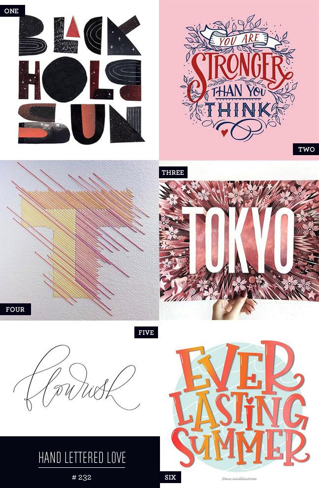 Hand Lettered Love #232 #lettering