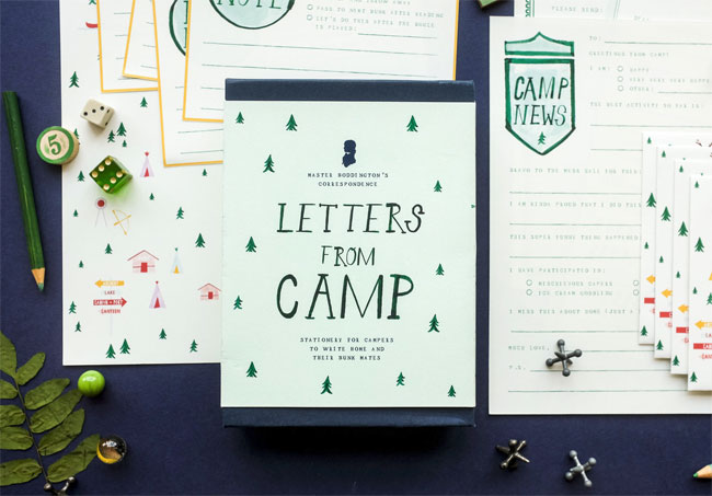 http://papercrave.com/wp-content/uploads/2018/07/mrboddington-letters-from-camp-correspondence-kit.jpg