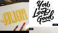Hand Lettered Love #243 #lettering