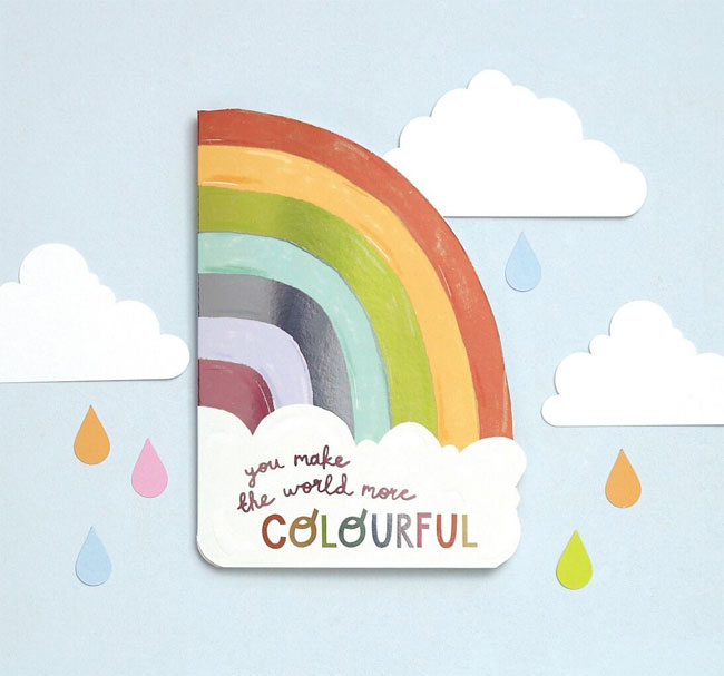 Pop! Die Cut & Foil Cards from Raspberry Blossom #greetingcards #stationerylove