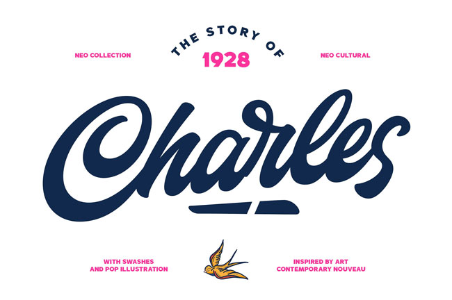 Charles Font Family by Alphabeta #font