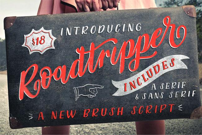 Roadtripper Font by Muffin Grayson #font