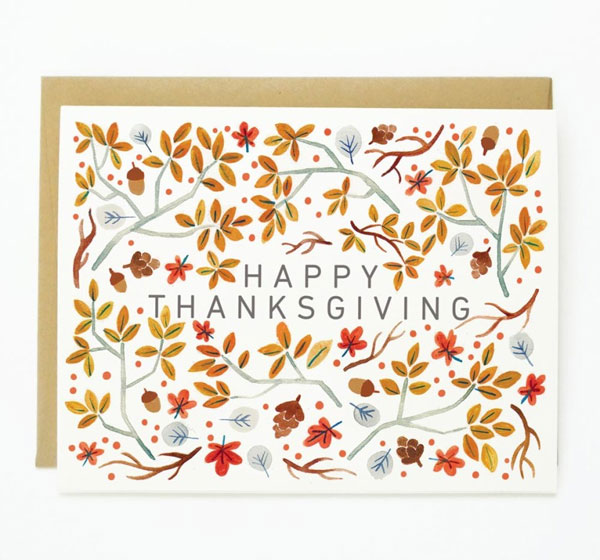 Quill & Fox Halloween and Thanksgiving Cards #greetingcard