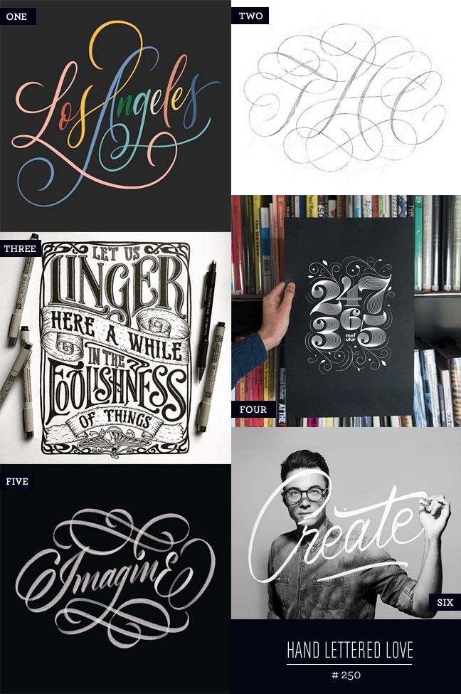 Hand Lettered Love #250 #lettering